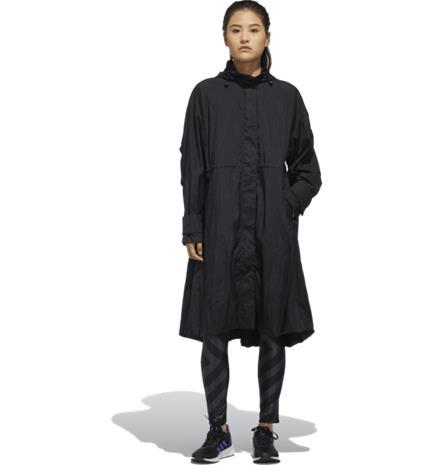 Adidas W STL LONG JKT BLACK, Naisten takit, paidat ja muut yläosat