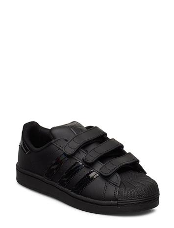 adidas Originals Superstar Cf C Tennarit Sneakerit Kengät Musta Adidas Originals CBLACK/CBLACK/CBLACK