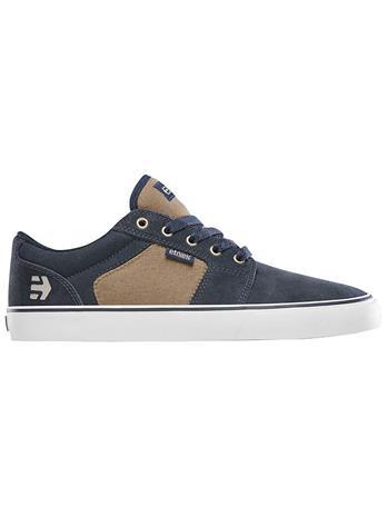 Etnies Barge LS Skate Shoes navy / brown / white Miehet