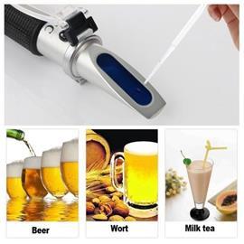 Refraktometri alkoholi- / sokeripitoisuus