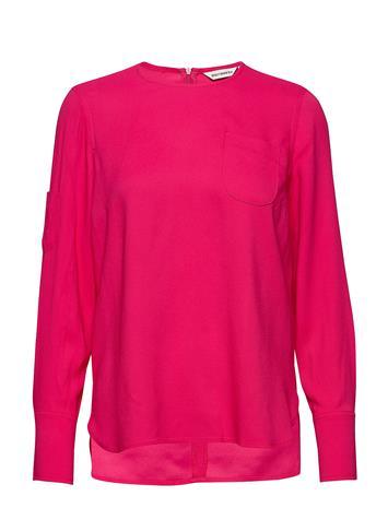 Marimekko Hako Solid Shirt Pitkähihainen Pusero Paita Vaaleanpunainen Marimekko PINK