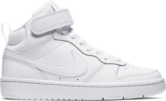 Nike J COURT BOROUGH MID 2 GS WHITE/WHITE