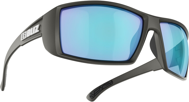 Bliz Drift Glasses, matte black/smoke/blue multi