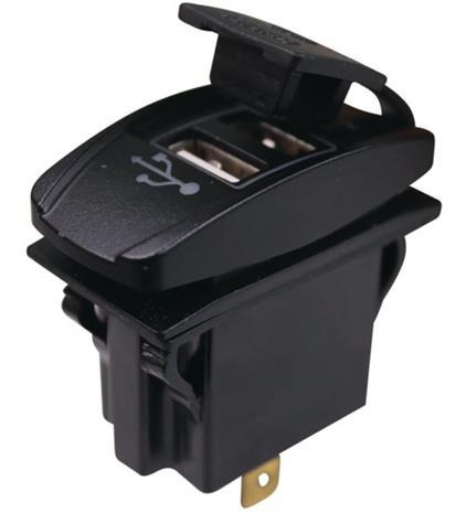 1852 USB latauspistoke paneeliin