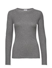 Filippa K Hannah Top T-shirts & Tops Long-sleeved Harmaa Filippa K GREY MELAN