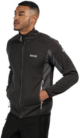Regatta Ecuador Softshell Jacket Men, magnet/black