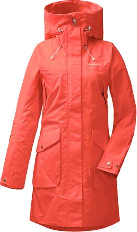 Didriksons 1913 Thelma Parka Women, coral red