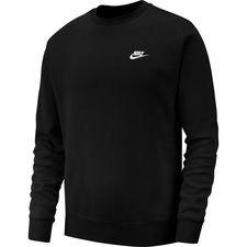 Nike Collegepaita NSW Club Crew - Musta/Valkoinen
