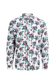 "jack & jones"" ""Kauluspaita jprBla Smith Flower Shirt L/S Pre, slim fit"
