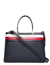Tommy Hilfiger Th Core Satchel Corp Bags Top Handle Bags Sininen Tommy Hilfiger CORPORATE BLUE
