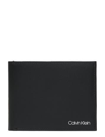 Calvin Klein Ck United 5cc + Coin Accessories Wallets Classic Wallets Musta Calvin Klein CK BLACK