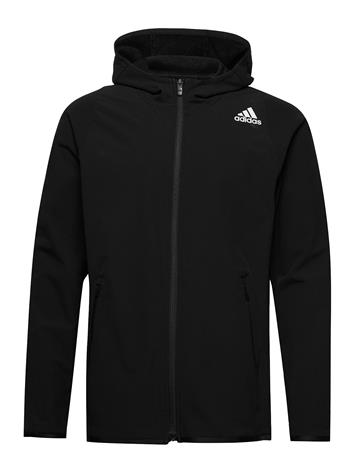 adidas Performance Fl Dwr Cw Hdy Huppari Musta Adidas Performance BLACK, Miesten paidat, puserot ja neuleet