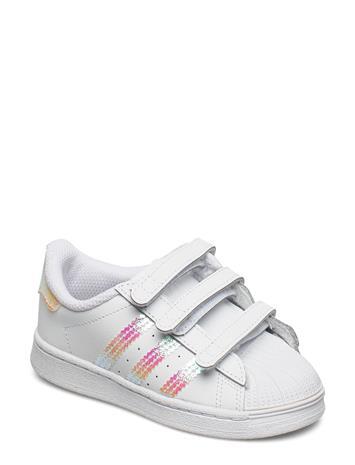 adidas Originals Superstar Cf I Tennarit Sneakerit Kengät Valkoinen Adidas Originals FTWWHT/FTWWHT/FTWWHT, Lasten kengät