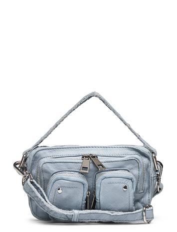Nunoo Helena Washed Light Blue Bags Top Handle Bags Sininen Nunoo LIGHT BLUE, Naisten laukut
