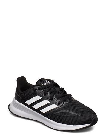 adidas Performance Runfalcon K Tennarit Sneakerit Kengät Musta Adidas Performance CBLACK/FTWWHT/CBLACK, Lasten kengät