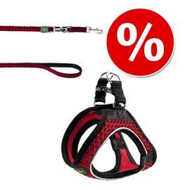 HUNTER Hilo Comfort -koiranvaljas - punainen - XXL-koko: rinnanympärys 58 - 65 cm