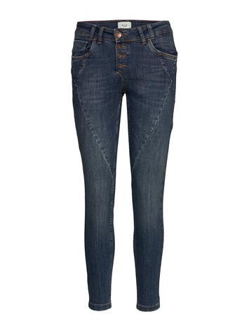 Pulz Jeans Rosita Ankle Jeans Skinny Farkut Sininen Pulz Jeans MEDIUM BLUE DENIM