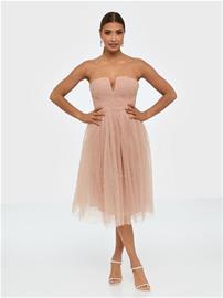 Rare London Beaded Trim Prom Dress