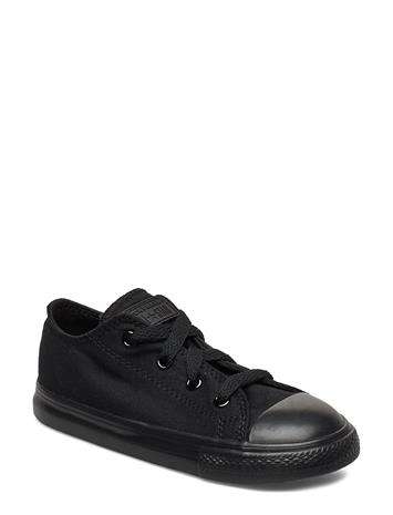 Converse Ct Ox Black Mono Tennarit Sneakerit Kengät Musta Converse BLACK MONOCHROME