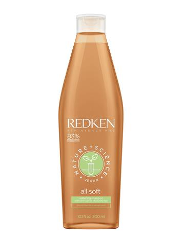 Redken Redken Nature + Science All Soft Shampoo Hoitoaine Hiukset Nude Redken CLEAR