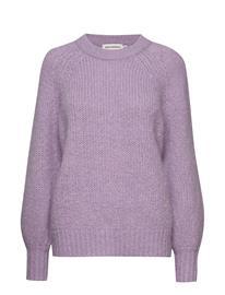 Marimekko Kinos Knitted Pullover Neulepaita Liila Marimekko LILAC