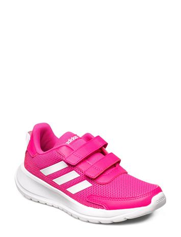 adidas Performance Tensaur Run C Shoes Sports Shoes Running/training Shoes Vaaleanpunainen Adidas Performance SHOPNK/FTWWHT/SHORED