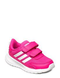 adidas Performance Tensaur Run I Shoes Sports Shoes Running/training Shoes Vaaleanpunainen Adidas Performance SHOPNK/FTWWHT/SHORED