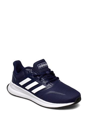 adidas Performance Runfalcon K Shoes Sports Shoes Running/training Shoes Adidas Performance DKBLUE/FTWWHT/CBLACK