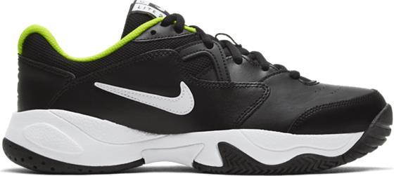 Nike J NIKECOURT JR LITE 2 BLACK/WHITE-VOLT