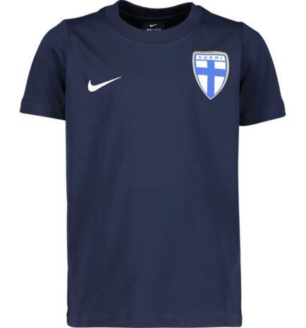 Nike FINLAND CLUB SS JSY Y OBSIDIAN/OBSIDIAN/