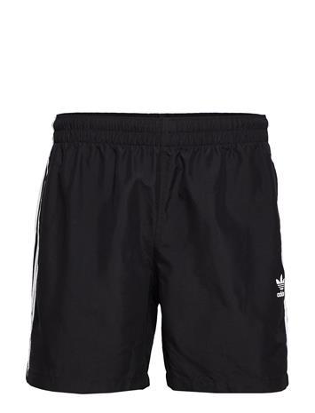 adidas Originals 3 Stripe Swims Uimashortsit Musta Adidas Originals BLACK, Miesten uimahousut