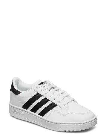 adidas Originals Team Court J Tennarit Sneakerit Kengät Valkoinen Adidas Originals FTWWHT/CBLACK/FTWWHT