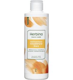 Herbina 3in1 250 ml sulfaatiton shampoo