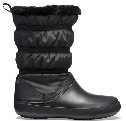Crocs CROCBAND naisten talvikengät, musta 38-39