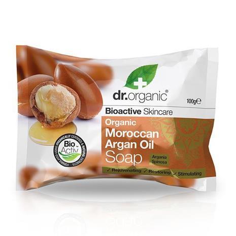 Dr. Organic -arganöljysaippua, 100 ml