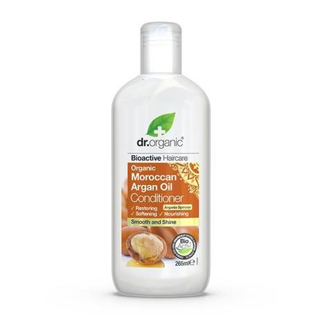 Dr. Organic -hoitoaine, sis. arganöljyä, 265 ml