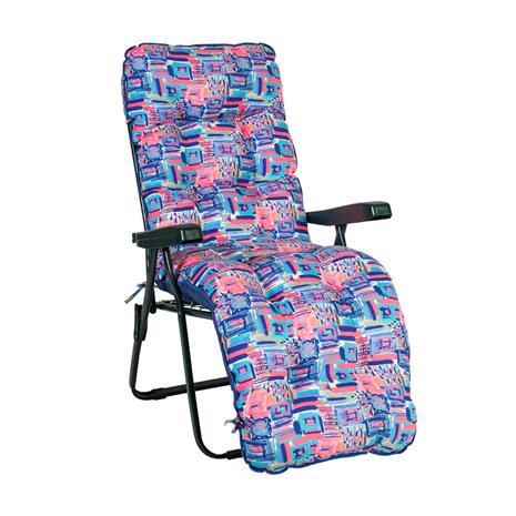 Istuin-/selkänojapehmuste BADEN-BADEN, ROSE 48x165cm, 50% polyesteri / 50% puuvilla, tyynyissä vaahtomuovirouhe, 119
