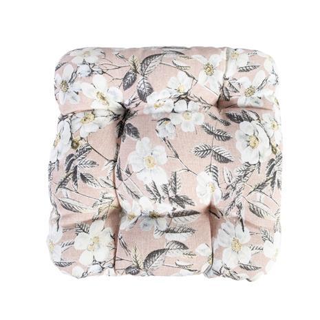 Istuintyyny WAIKIKI 40x40cm, pinkki ruusu, 50%puuvilla, 50%polyesteri, 228