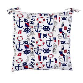 Istuintyyny SUMMER 40x40cm, 50%polyesteri, 50%puuvilla, täyte polyestrekuitu, kangas 154