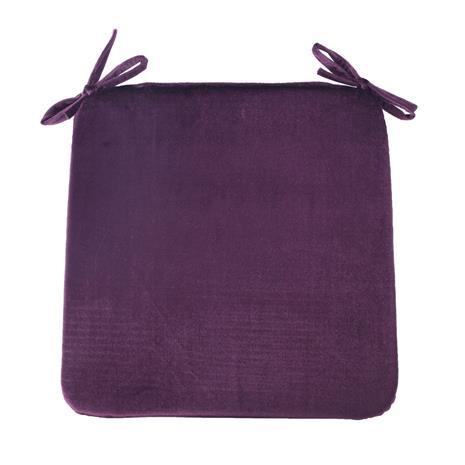 Istuintyyny DELUXE 2 39x39cm, paksuus 2,5cm, tummanbordeaux, 100%polyesteri, kangas-843