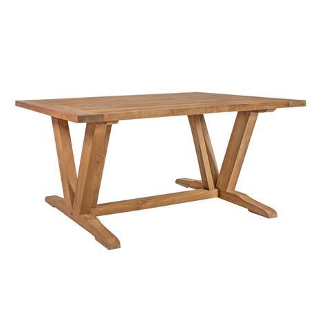 Pöytä KATALINA 220x100xH78cm, materiaali: kierrätetty tiikki, väri: luonnollinen