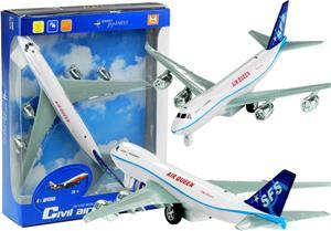 AQ747 matkustajakone, ääni- ja valotoiminnot