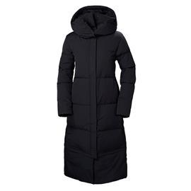 Helly Hansen Winterdream naisten pitkä untuvatakki, musta XL