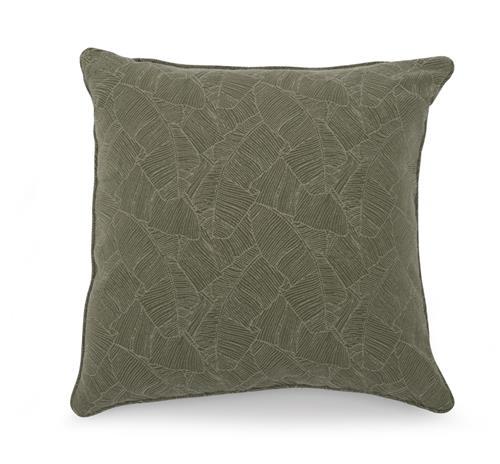 Sohvatyyny, 50 x 50 cm, tummanvihreä/höyhenet