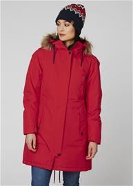 Helly Hansen Mayen naisten talviparka, punainen XL