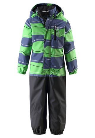Lassie Suprafill® Tihvo lasten vuorellinen välikausihaalari, harmaa-vihreä 80