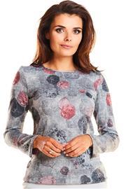 Naisten paita, tummanharmaa S (36)