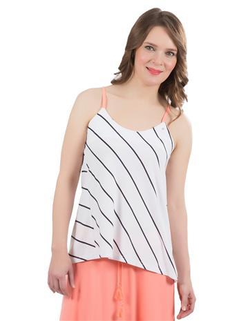 FILIPPA Luhta naisten paita, valkoinen-musta XS