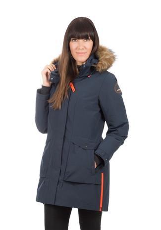 Icepeak Breda naisten talviparka, tummansininen 36