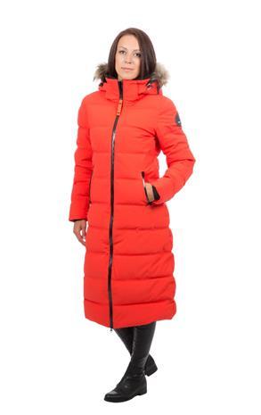 Icepeak Brilon naisten pitkä talvitakki, punainen 38